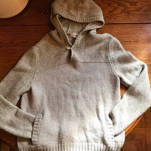 Calvin Klein Wool Pullover Hooded Sweater XL
